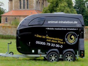 Pferdeinhalation-Animalinhalation-Anhänger