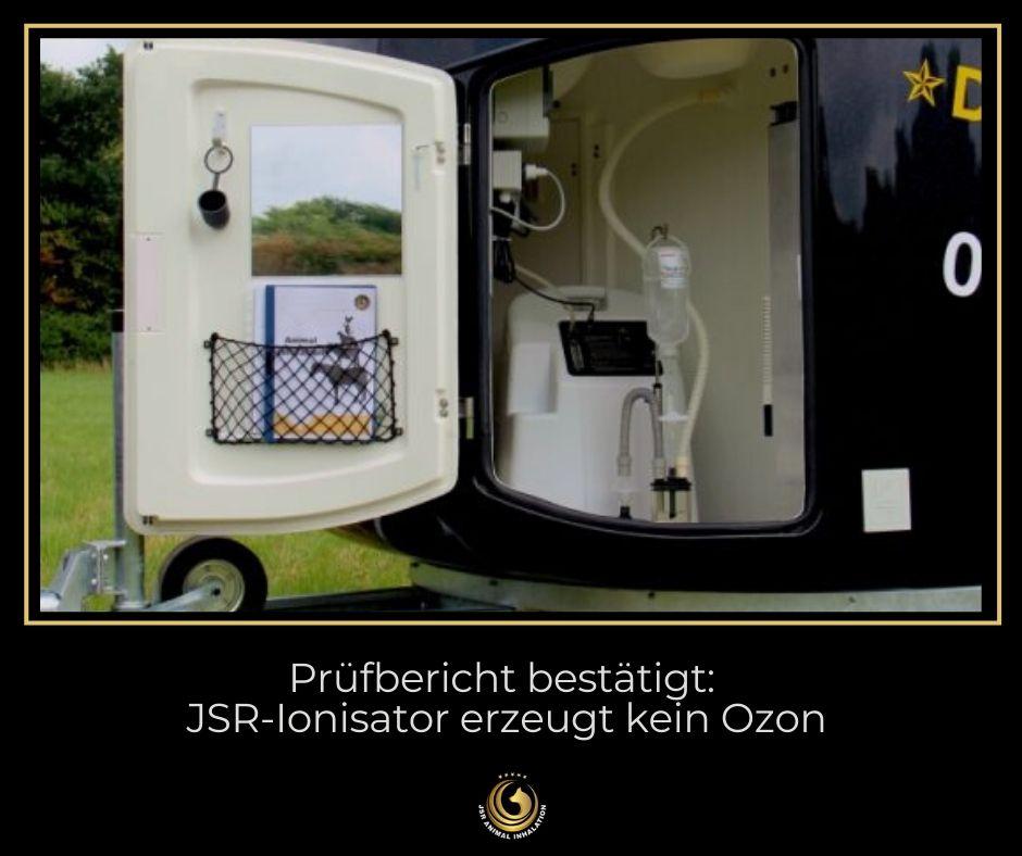 JSR Ionisator erzeugt nachweislich kein Ozon