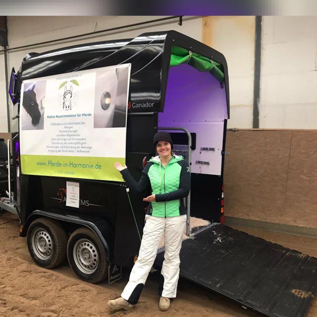 Christina Klettke Horses in Hamony mit Solemobil