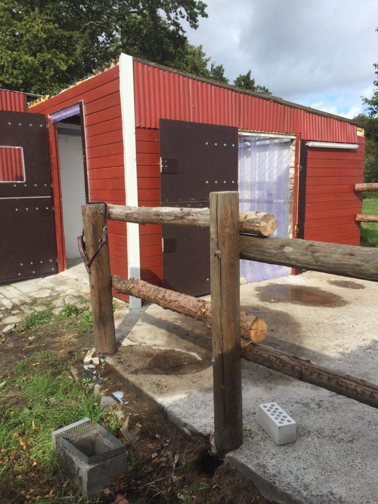 Die Solekammer Aurich verfügt über zwei Ausgänge