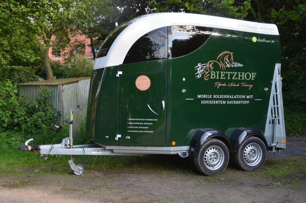 Solemobil Bietzhof Pferde Wege