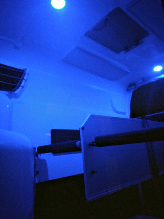 Blaues Licht fördert die Entspannung im hippomobil